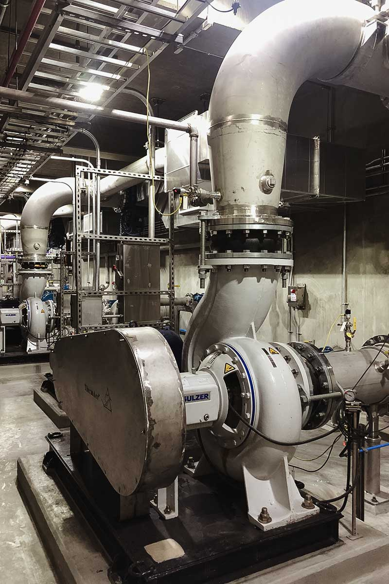 Mechanical piping system