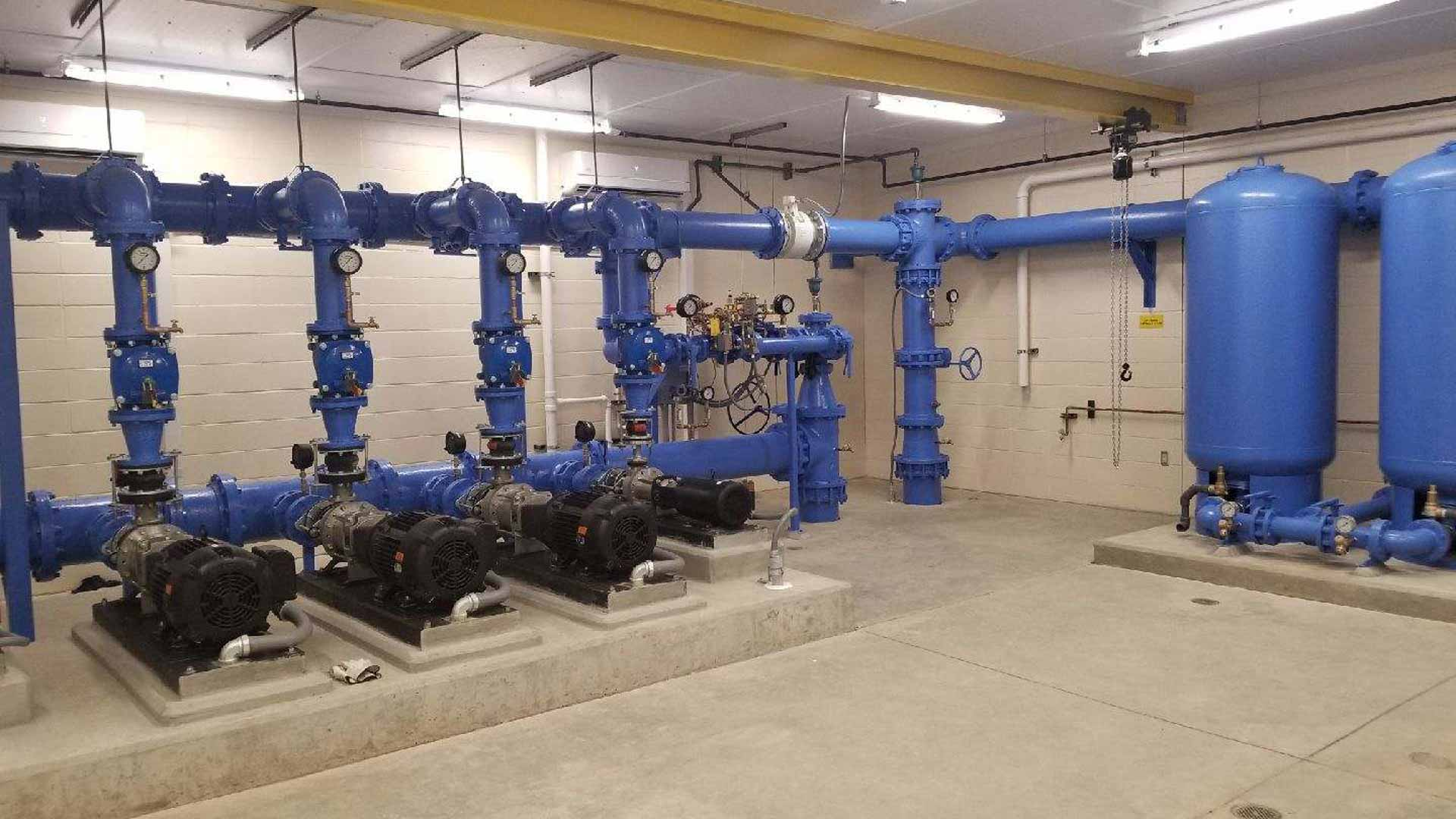 mechanical pipe system