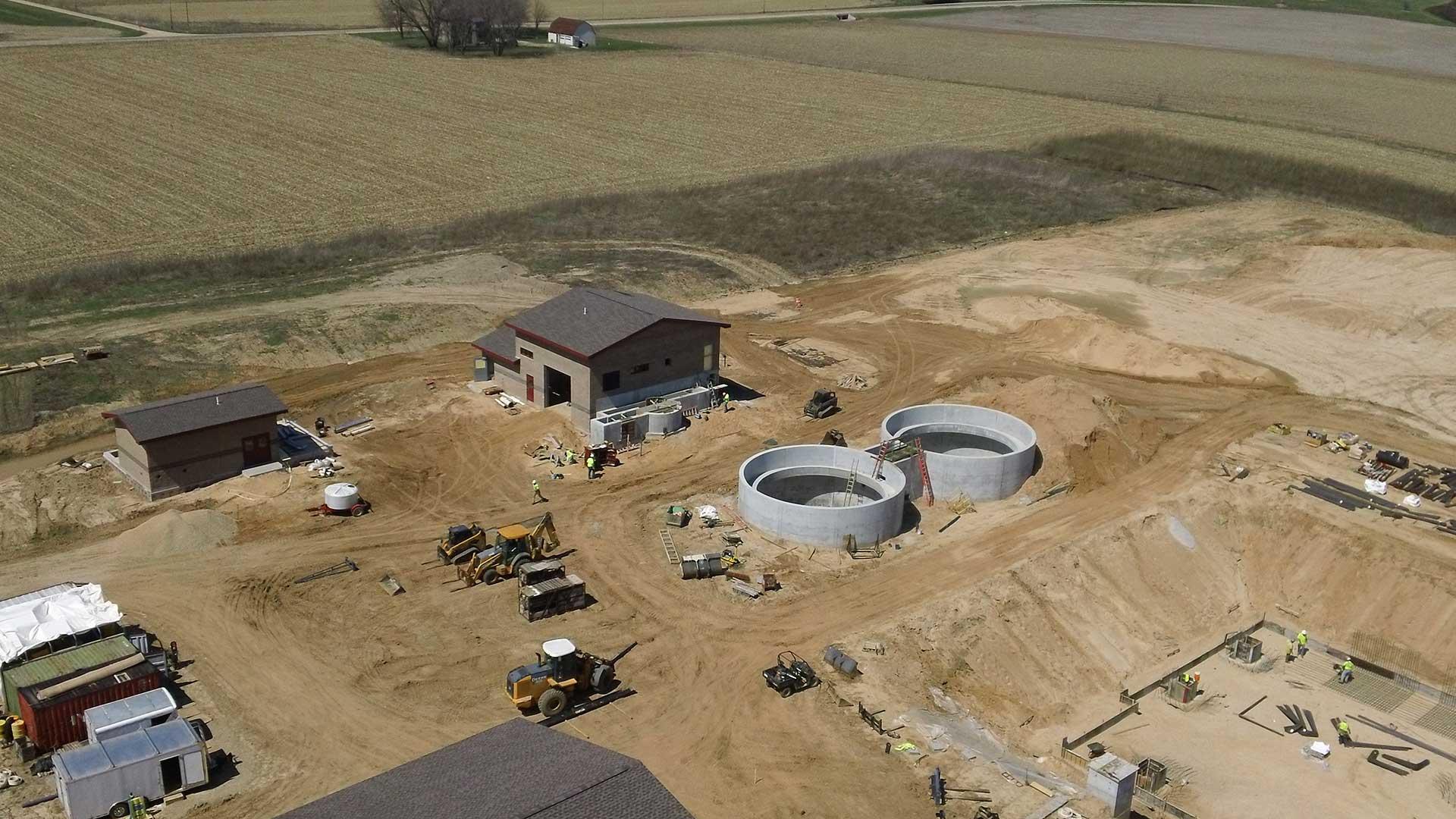 Richland center under construction